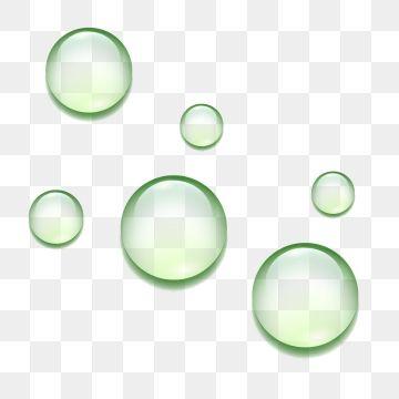 2020 的 Waterbubble Green Bubble Liquid Transparent Bubble Png