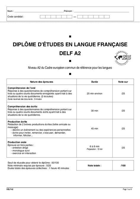 Compréhension De L Oral A2 Delf A2 Unas Francesas