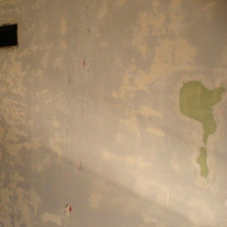 Preparing A Wall For Paint After Removing Wallpaper Removable Wallpaper Stripped Wallpaper Painting Over Wallpaper