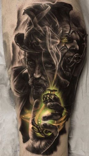 Jekyll And Hyde Tattoo
