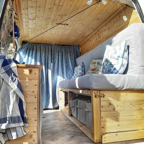 9 DIY Ford Transit Connect Camper Van Conversions