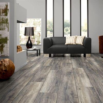 Kronotex Raven Ridge Estate Grey Oak Embossed Wood Laminate Plank Sample Grey Laminate Flooring Gray Wood Laminate Flooring Grey Laminate Flooring Kitchen