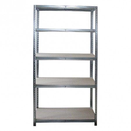 Regalux Combi Nagy Teherbirasu Allopolc 5 Polcos 180x90x40cm Regalux Szerszam Tarolas Markak Markak Ladder Bookcase Shelves Home Decor