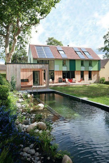 Best Maison Passive Bois Images On   Passive House Log