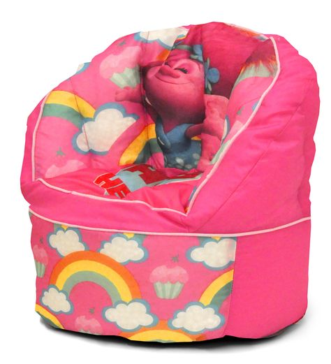 Character Toddler Kids Bean Bag Chair In Trolls Products
