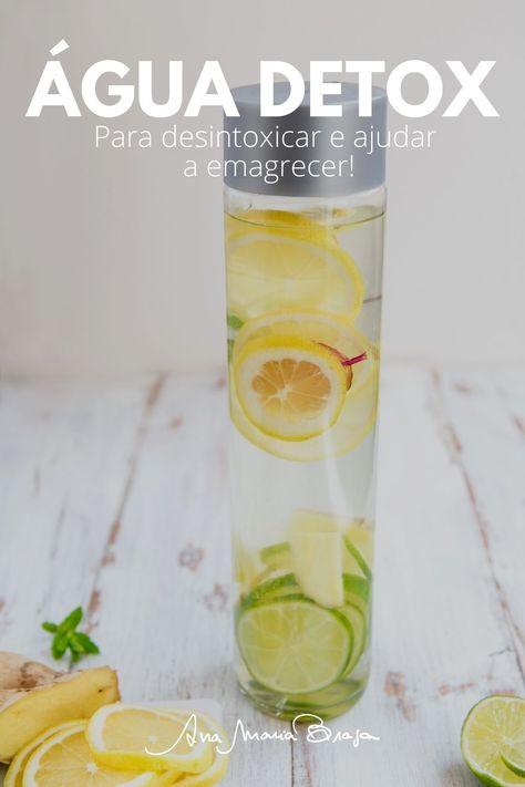 Veja a receita de uma água detox. Com ingredientes inusitados, esta água é ótima para desintoxicar e para ajudar a emagrecer!