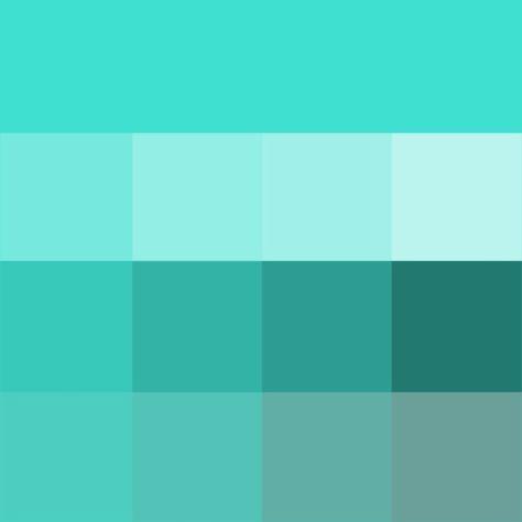 Grey Colors Shades Szukaj W Google Turkis Farbe Farbschema