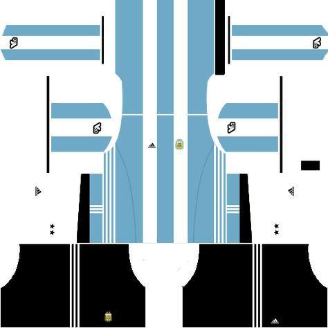 3769a88fb Dream League Soccer Kits Argentina 2017-2018 (DLS Kits and Logo URL)
