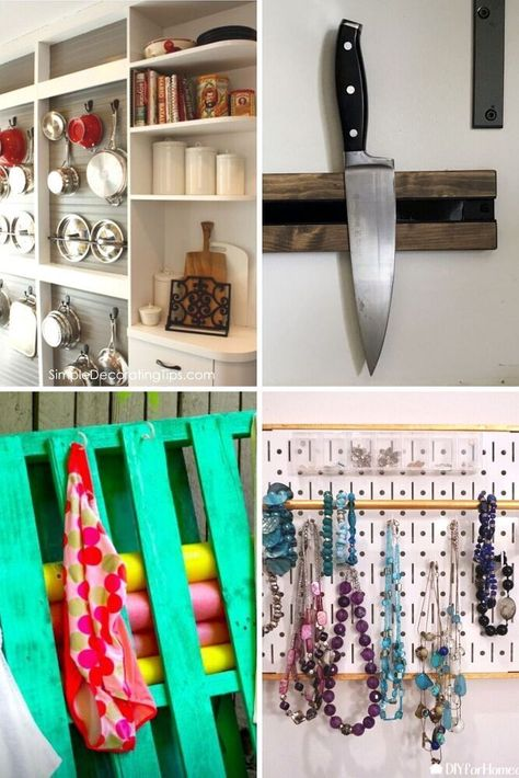 Check out these quick and easy diy storage ideas for your home. Inexpensive home organization ideas to make your life easier. Top diy organization ideas for bedroom and kitchen.