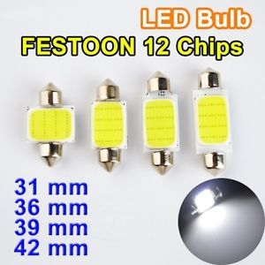A Bombillas Led C5w Festoon Cob 12v 31mm 36mm 39mm 42mm Interior Y Matricula Coche Bombillas Led Bombillas Led