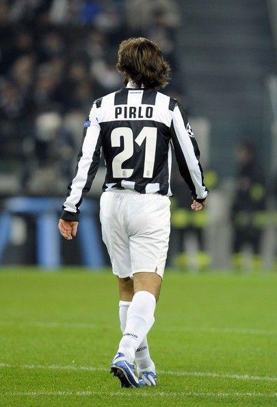 Andrea Pirlo Juventus N 21 Lendas Do Futebol Futebol Esporte