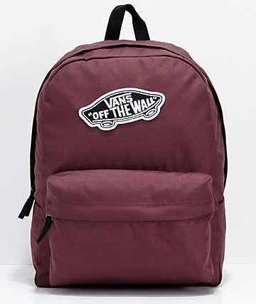 bicapa tragedia Charlotte Bronte  Vans Realm Catawba Grape Backpack   Vans school bags, Vans bags, Vans  backpack