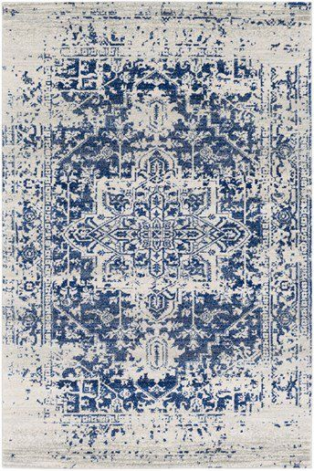 A Series Of Striking Designs That Effortlessly Embody Current Trend Machine Made In 100 Polypropylene With Pa Rugs In Living Room Transitional Rugs Blue Rug