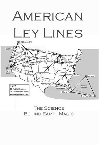 Magnetic Ley Lines In America Of Blood Video Showing How - Us ley lines map