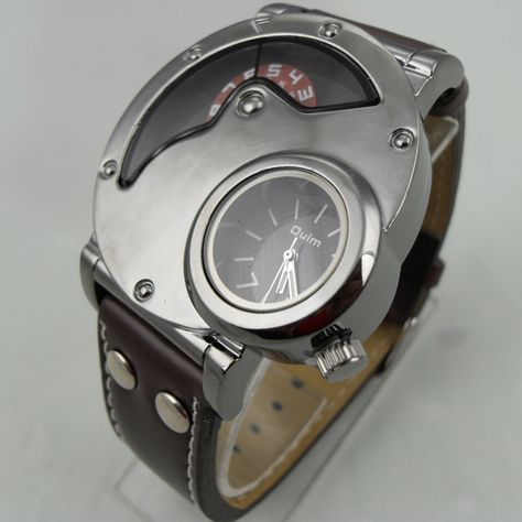 Mens Watch Steampunk Wrist Mechanical Watch - Anniversary Gifts for Men (WAT0066-Black)