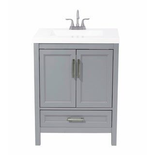 Salerno 25 In Bath Vanity With Cultured Marble Vanity Top