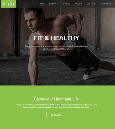 11 best fitness website templates images on pinterest excercise get best free responsive bootstrap website templates at webthemez get all the premium quality responsive bootstrap templates for free and commercial use pronofoot35fo Gallery