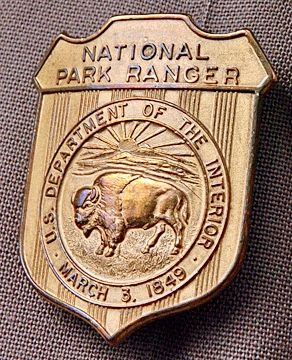 We finished all of our activities in our junior ranger packets and had a ball getting to know our ranger. 27 Best Us Park Ranger Badge Ideas Us Park Park Ranger Ranger