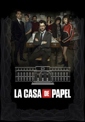 Money Heist Tv Poster Image With Images Paper Houses Swedish