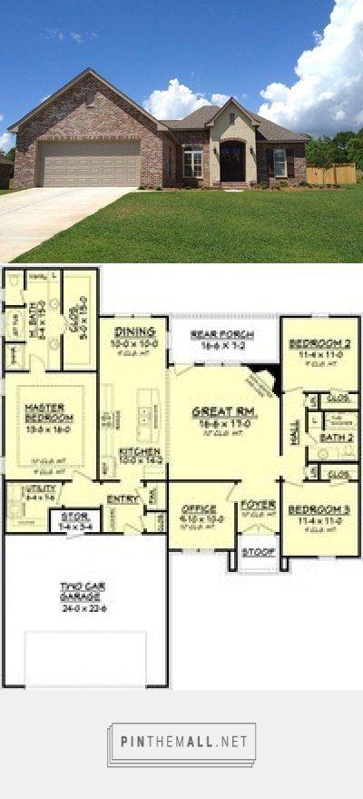 European House Plan Alp 09cn Chatham Design Group House Plans 1768sf Created Via Https Pinthemall Net European House Plan House Plans House