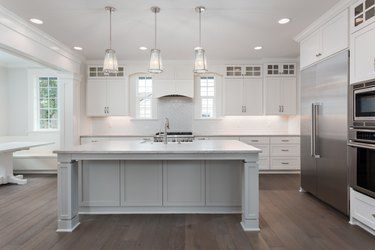 How Much Counter Overhang For Seating Hunker Kitchen Remodel Kitchen Remodel Checklist Floor Decor