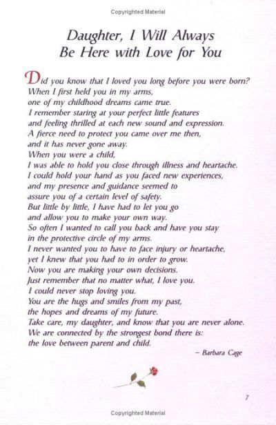 The 25 best Poem for my daughter - Single Mom Quotes From ...