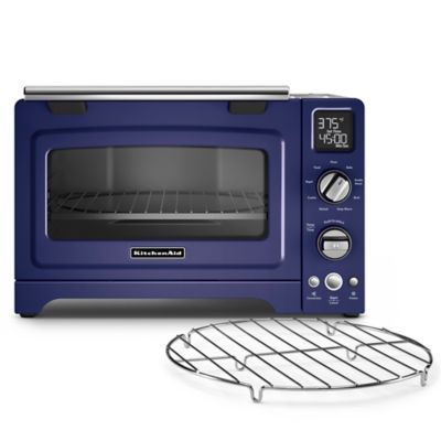 Kitchenaid 12 Convection Digital Countertop Oven In Blue Cobalt