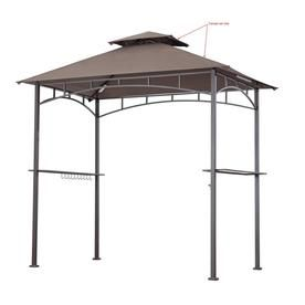 Sunjoy Gazebo Replacement Canopy Top Lowes Com Grill Gazebo Gazebo Replacement Canopy Replacement Canopy