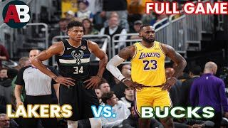 Dont Forget Subscribe Thanks For Watching Los Angeles Lakers Vs Bucks Full Game Highlights Nba Highlights Today Lebron In 2020 Lakers Vs Lebron James Lakers Lakers