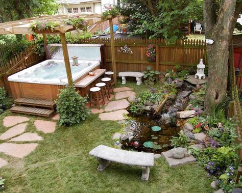 38 Stunning Backyard Design Ideas And Makeover On A Budget #BackyardDesign