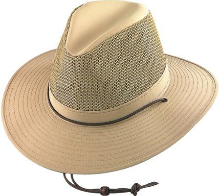 a06335dfa Henschel Hats Aussie Breezer 5320 Firm Mesh Hat at Amazon Men's ...