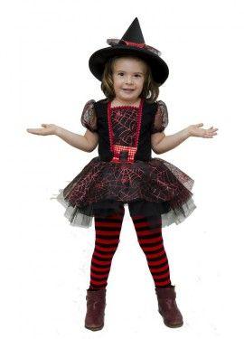 3a39259d9 Disfraz de Brujita Tul para niña | funny random | Disfraz de bruja ...