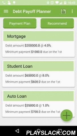 Debt Payoff Free Android App Playslack Com Please Do Not Leave A Bad Rating Credit Card Payment How T Debt Payoff Credit Card Payoff Plan Credit Card App