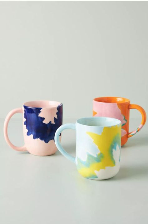 Designed by Elnaz Nourizadeh in collaboration with Anthropologie, this heirloom quality mug integrates artfulness into your everyday life.