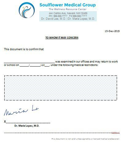 Urology Doctors Note Doctors Note For Work Pinterest Note - delivery note template word