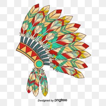 Coiffe De Plumes Indiennes Boho Indien Coiffe Indienne Fichier Png Et Psd Pour Le Telechargement Libre Indian Feathers Feather Headdress Colored Smoke