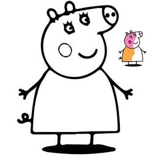 Peppa Pig Coloring Pages Free Peppa Pig Coloring Pages Peppa Pig Colouring Coloring Pages