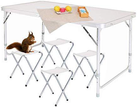 Nestling Tragbare Aluminium Outdoor Klapptisch C Outdoor Folding Table Aluminium