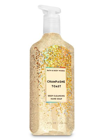 Champagne Toast Deep Cleansing Hand Soap Bath And Body Works