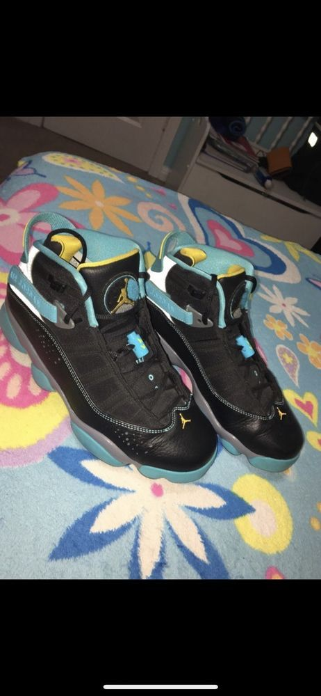detailed look 9fe9c d294c USED NIKE AIR JORDAN 6 RINGS GAMMA BLUE SIZE 7.5 #fashion ...