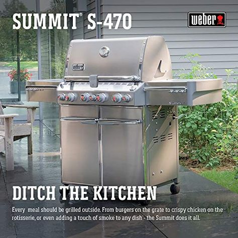 Weber Summit S 470 Review How Better Its Performance In 2020 Propane Gas Grill Propane Stainless Steel Rod