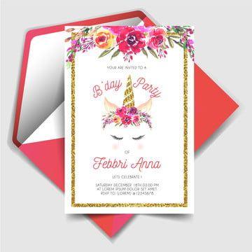 Magicznie Jednorozcowe Zaproszenie Na Przyjecie Urodzinowe Unicorn Birthday Unicorn Birthday Parties Birthday Party Invitations