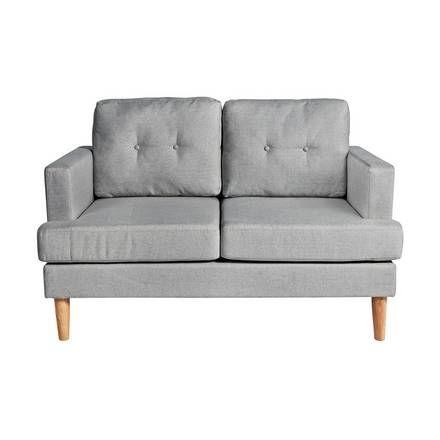 Buy Argos Home Evie 2 Seater Fabric Sofa In A Box Charcoal Sofas Argos Fabric Sofa Charcoal Sofa Light Gray Sofas