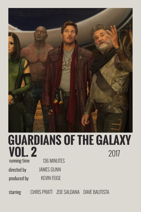guardians of the galaxy vol 2 polaroid poster