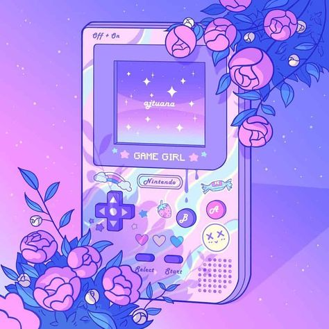 Aris Roth is a self-taught digital artist, based in Cologne, Germany. Aris Roth enjoys anime aesthetics and Japanese Dreamscapes. Purple Aesthetic, Aesthetic Art, Aesthetic Anime, Aesthetic Light, Doodles Kawaii, Cute Kawaii Drawings, Arte Do Kawaii, Kawaii Art, Aesthetic Pastel Wallpaper