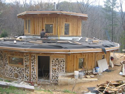 blog about building a cordwood home and homesteading Asheville, nc ...