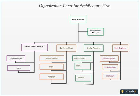 Organization Chart For Architecture Firm You Can Use This