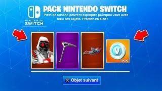 Comment Avoir Le Pack De Skin Nintendo Switch Sur Fortnite Battle Royale Skin Fortnite Double Helix