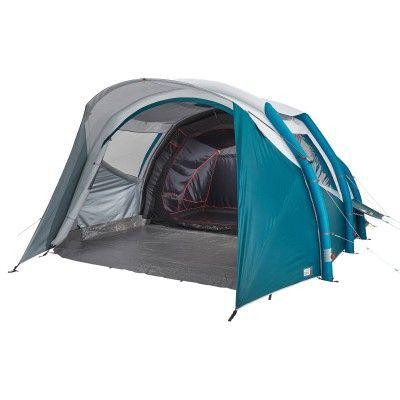 Tente Gonflable De Camping Air Seconds 5 2 F B 5 Personnes 2 Chambres En 2020 Camping En Tente Tente Familiale Tente Gonflable