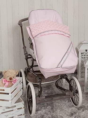Babyline Bombón Saco Para Silla De Paseo Color Rosa Bolsospanera Coches Para Bebes Carrito De Paseo Carritos De Bebé